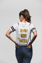 Save the Bees Drawstring bag
