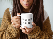 Do Different, Be Different Mug