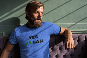 Yes VeGAN Ringer T-Shirt