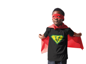 Vegan Superhero Youth Short Sleeve T-Shirt