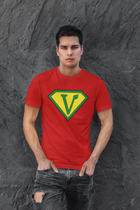 Vegan Superhero Short-Sleeve Unisex T-Shirt
