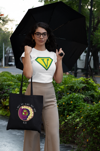 Vegan Superhero Women's short sleeve t-shirt
