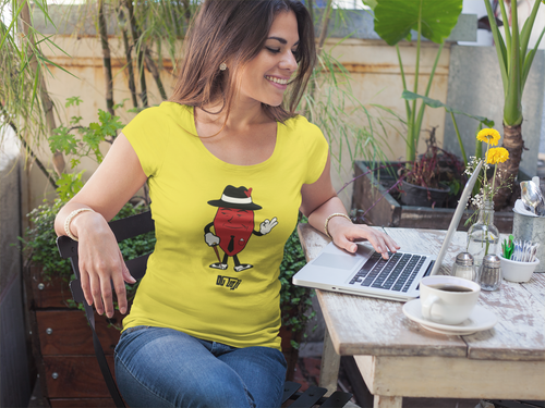OG Goji Ladies' Scoopneck T-Shirt