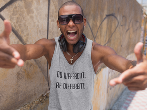 Do Different, Be Different Classic tank top (unisex)