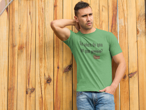 But where do you get your fiber? Short sleeve t-shirt