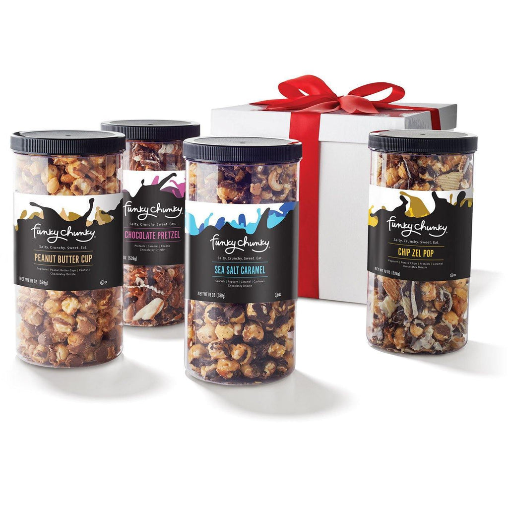 Four Flavor Gift Pack - Funky Chunky