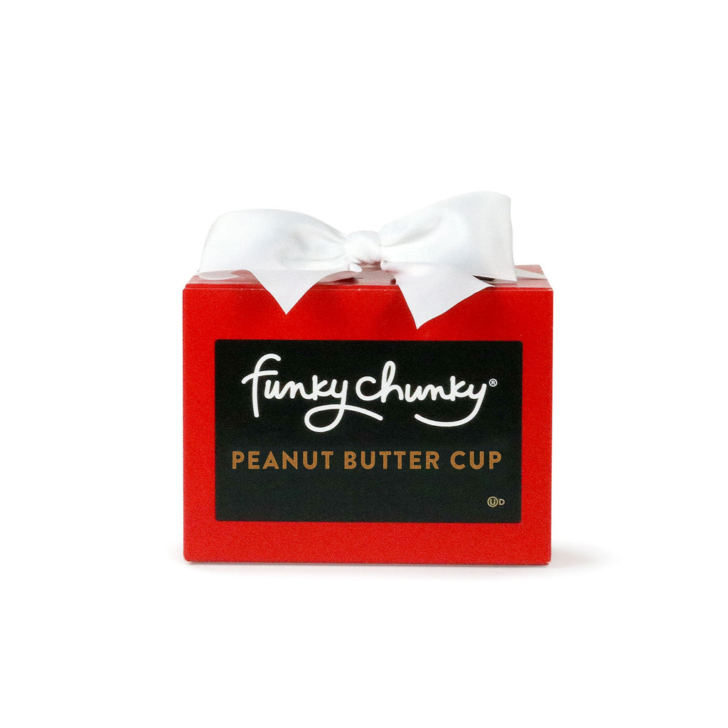 Valentine's Peanut Butter Cup Gift Box (10oz.)-simple-Funky Chunky