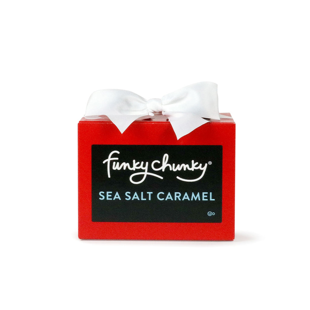 Valentine's Sea Salt Caramel Gift Box (10oz.)-simple-Funky Chunky