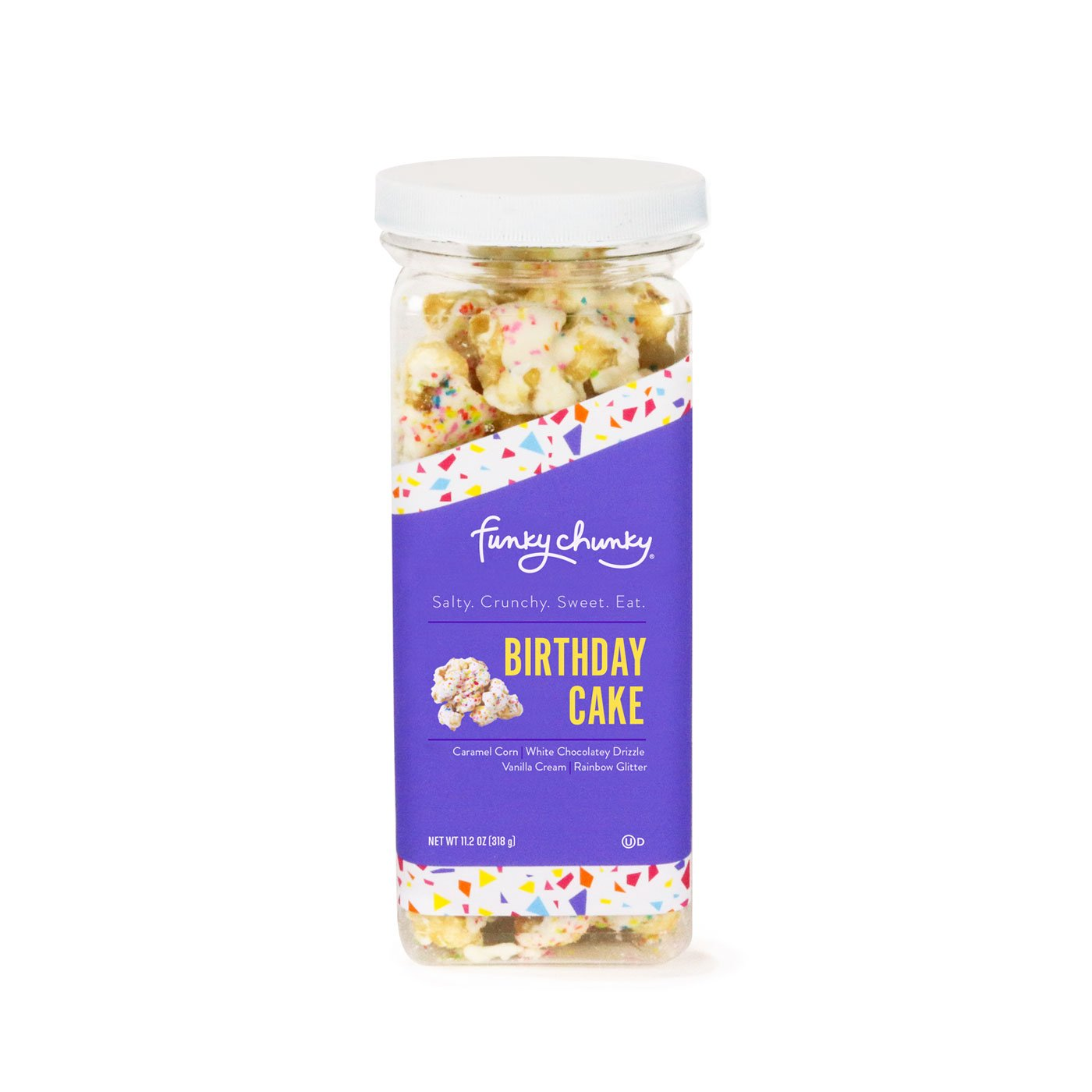 Outstanding Birthday Cake Popcorn 11 2 Ounce Funky Chunky Funny Birthday Cards Online Fluifree Goldxyz