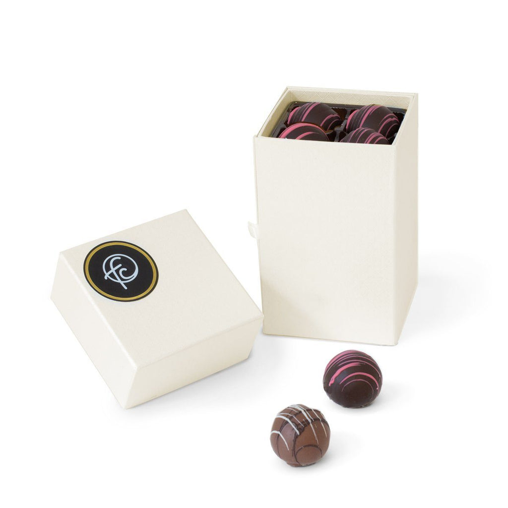 Large Pearl Truffles in 4-Tier Gift Box-simple-Funky Chunky