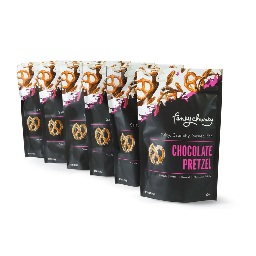 Chocolate Pretzel | 5 oz - 6 pack-simple--Funky Chunky