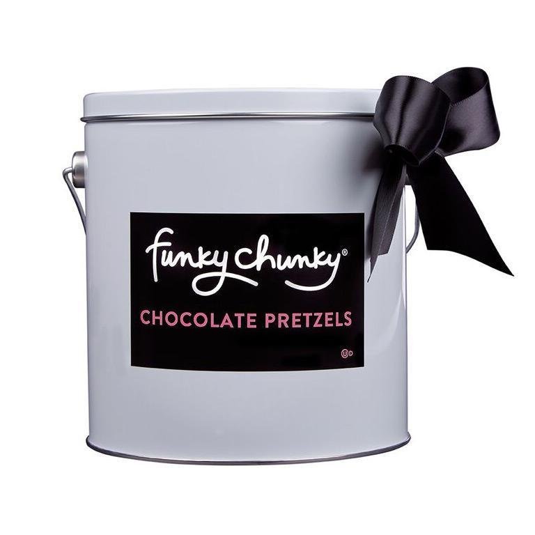 Chocolate Pretzel-configurable-Gift Pail (2lb.)-Funky Chunky