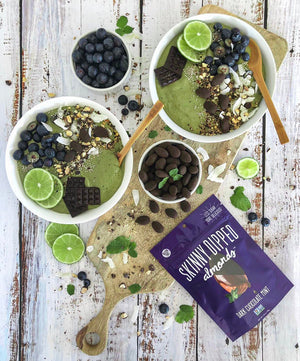 Mint Chocolate, Green Machine Smoothie Bowl (GF)