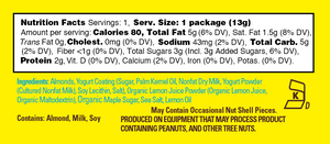 Lemon Bliss 0.46 oz Mini Packs - Case of 24