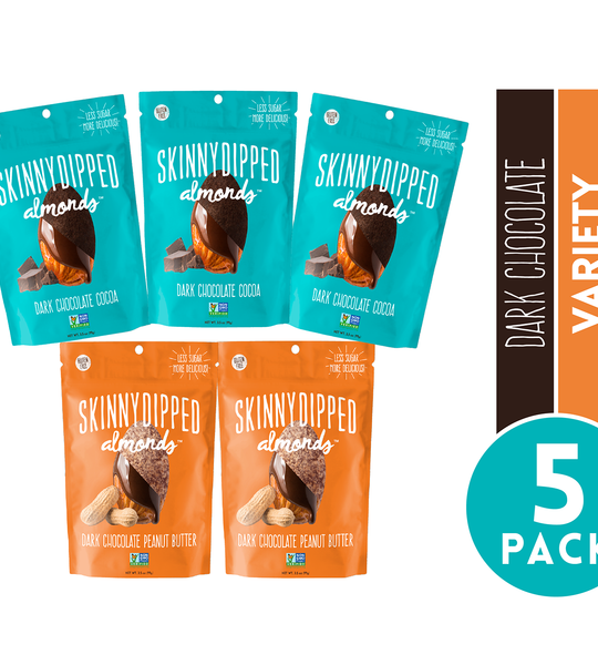 Cocoa and Peanut Butter Variety 3.5 oz Pouch - 5 pack