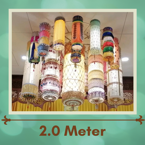 EVO - Big Lamp Banner 2.0-meter (2020 Vesak Day Offering)