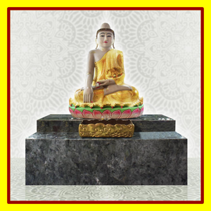 EVO - Offering Of Gold Foil Gilding on the Jade Buddha & Offering of the Altar