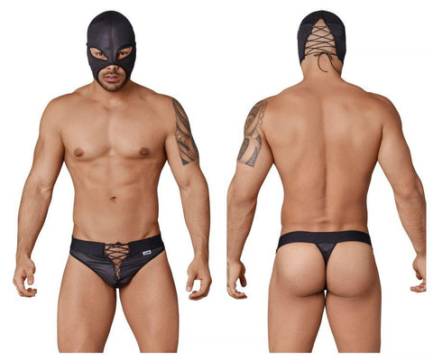 CandyMan 99352 Wrestler Costume Outfit Color Black
