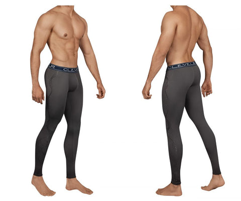 Clever 0160 Ethereal Athletic Pants Color Gray