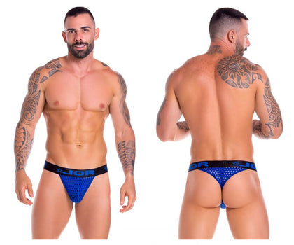JOR 0824 Stereo Thongs Color Royal