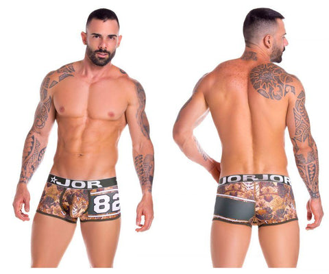 JOR 0868 Bengal Boxer Briefs Color Printed