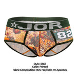 JOR 0869 Bengal Briefs Color Printed