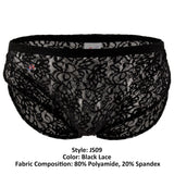 Joe Snyder JS09 Short Color Black Lace