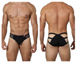 Pikante PIK 0218 Attraction Ruched Briefs Color Black