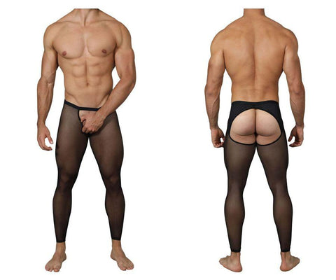Pikante PIK 0236 Intuition Soho Long Johns Color Black