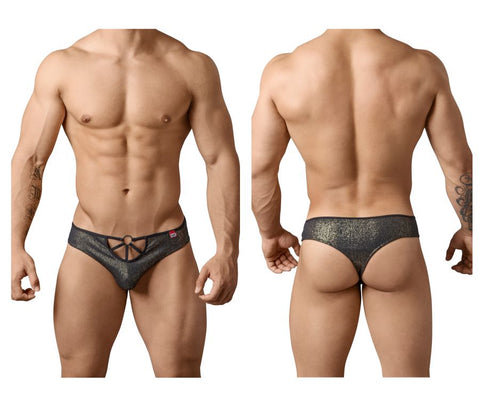 Pikante PIK 8046 Neutral Thongs Color Black