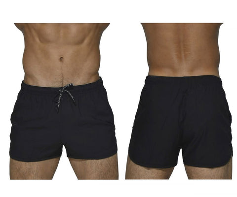 Private Structure BSBY4059 Befit Sweat Athletic Shorts Color Black