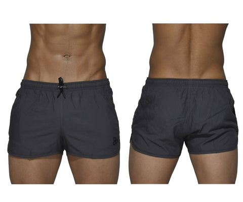 Private Structure BSBY4059 Befit Sweat Athletic Shorts Color Gray