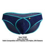 Xtremen 91040 Mesh Briefs Color Dark Blue