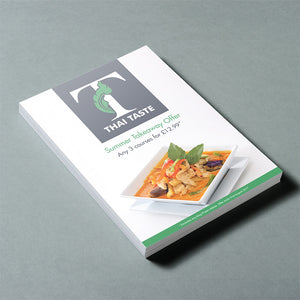 A5 Flyer 130 GSM Silk or Gloss finish leaflet printing