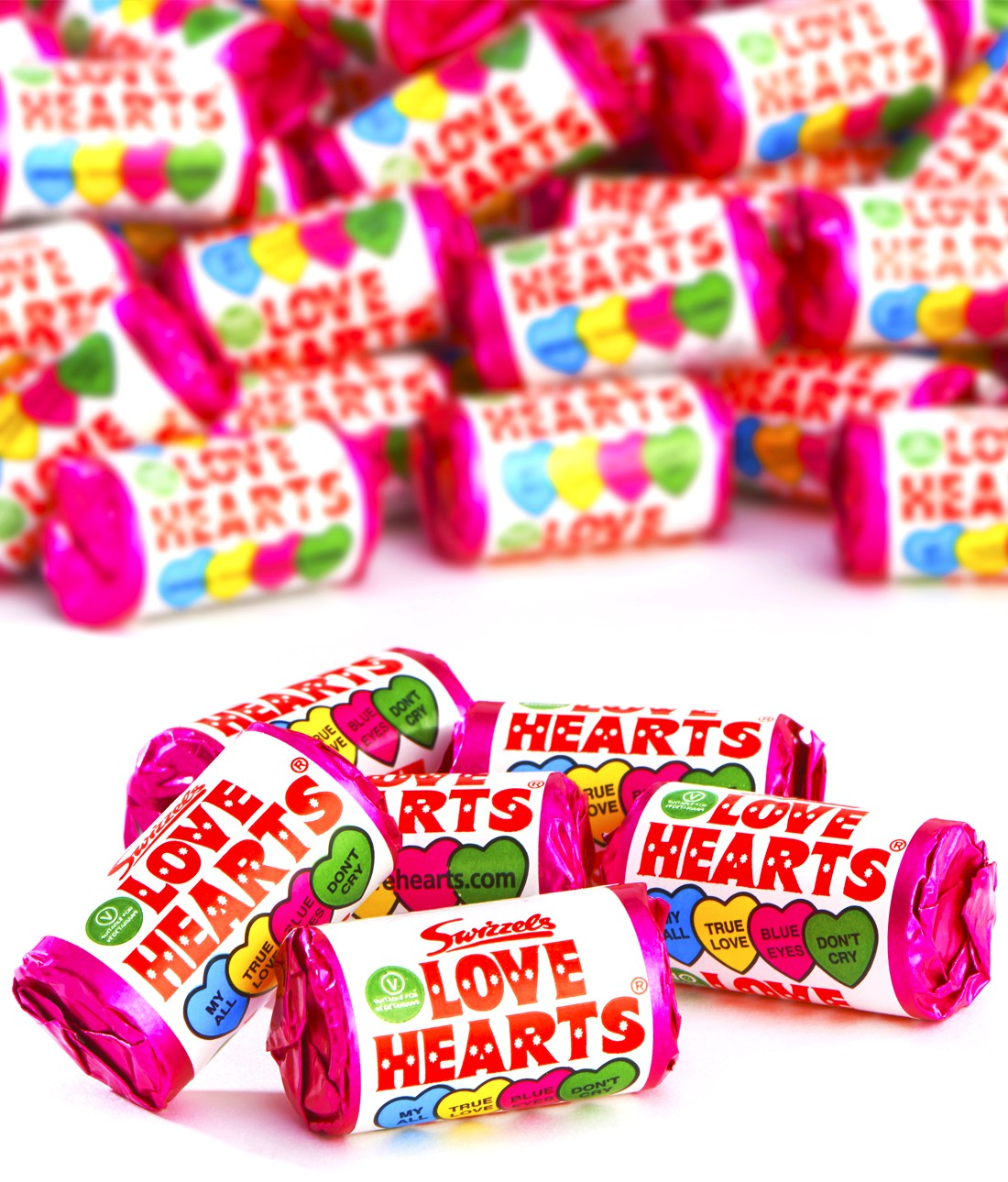 Swizzles Mini Love Hearts x 48