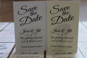 Magnetic save the date cards
