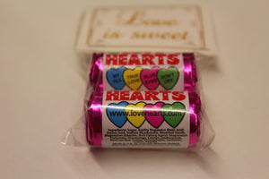 Love is sweet love hearts