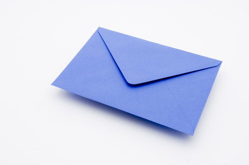 China Blue envelopes in 4 sizes
