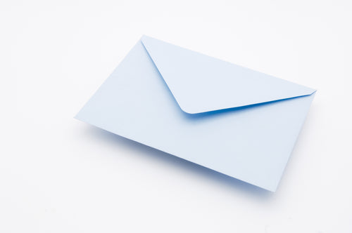 Soft Pale Blue Envelopes C7, C6, C5, 155x155, DL