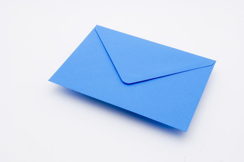 Kingfisher Blue envelopes in 4 sizes
