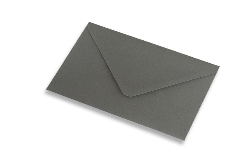 Dark Grey envelopes in 4 sizes