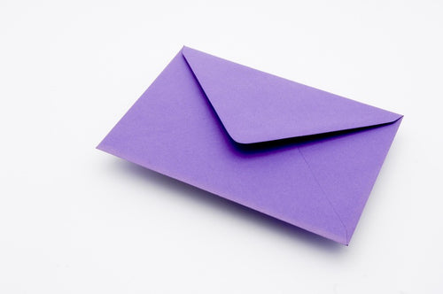 Indigo envelopes in 4 sizes