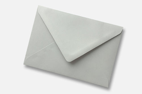 Light Grey envelopes in 4 sizes
