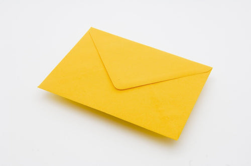 Harvest Yellow envelopes in 4 sizes