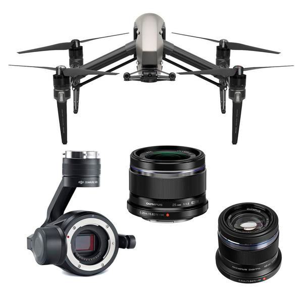 Compatible Lenses for the DJI Zenmuse X5S