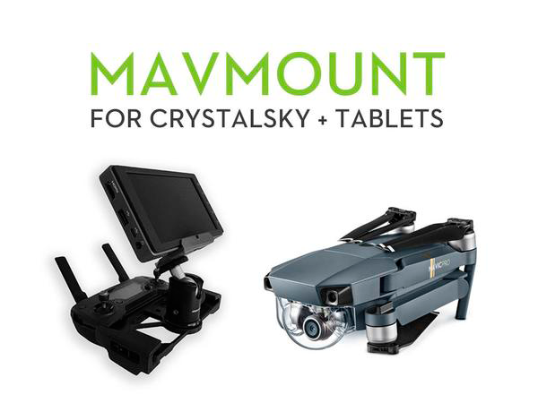 MavMount – Mounting Solution for DJI CrystalSky & Tablets