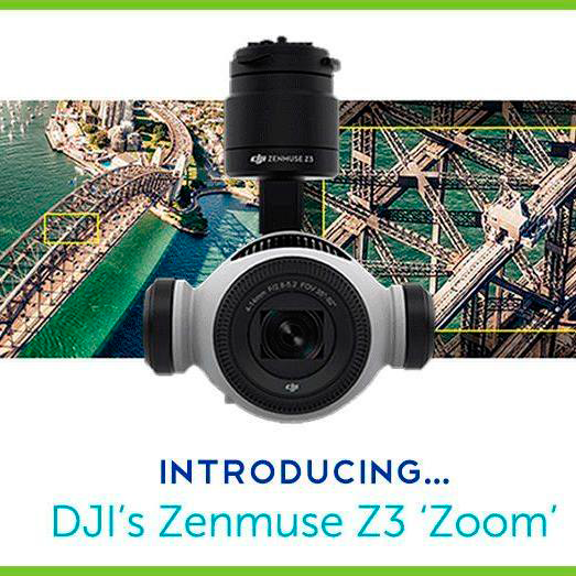 Zenmuse Z3 - DJI's First Integrated Drone Zoom Camera