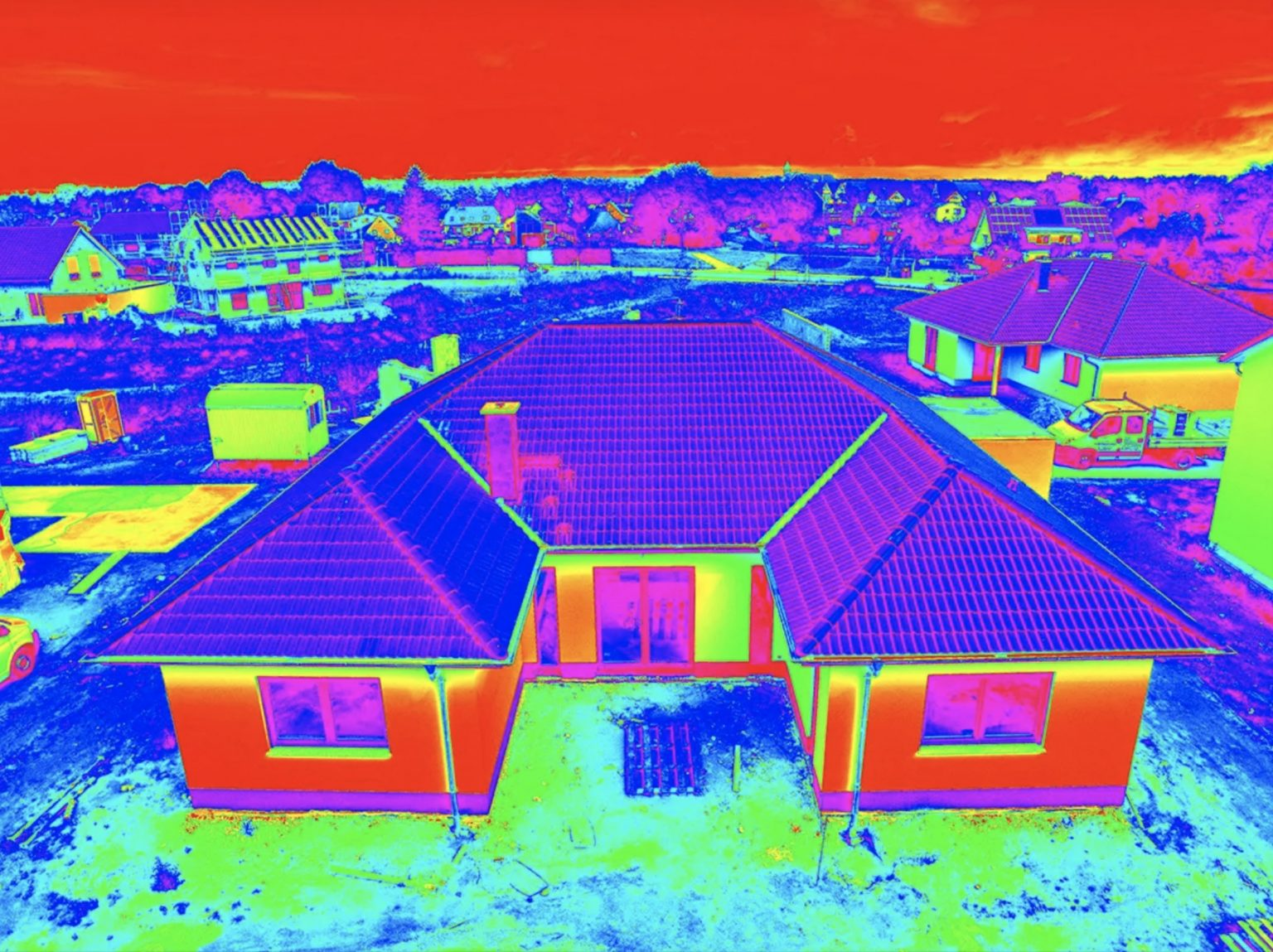 Autel EVO 2 Dual Sample Thermal Image
