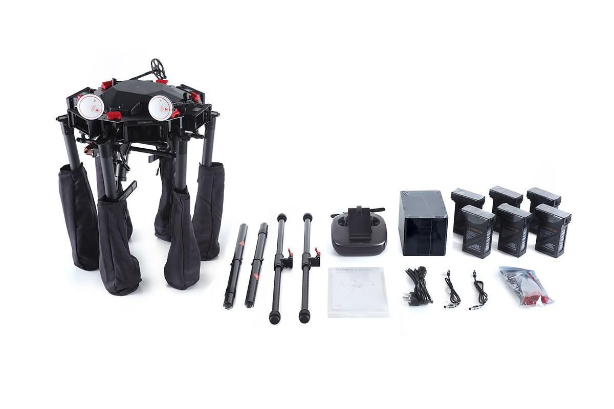 DJI Matrice 600 Pro What's Included?