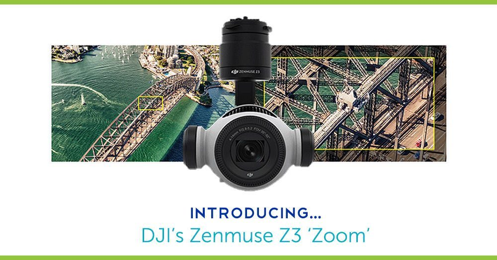 DJI's First Aerial Zoom Camera